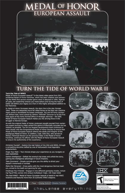 Medal of Honor: European Assualt