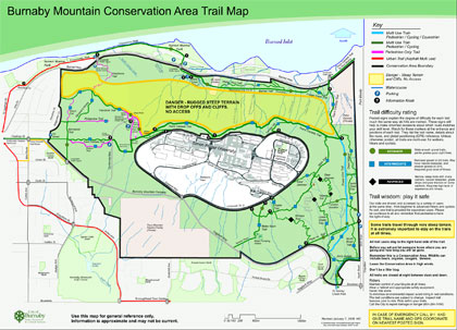 Burnaby Mountain Trail Guide
